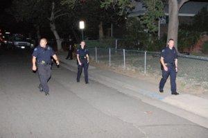 APD Cops walk 1900 block of Clinton St.