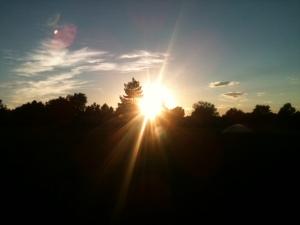 A pretty August sunset - Photo by Shane Anthony AuroraNews1.com