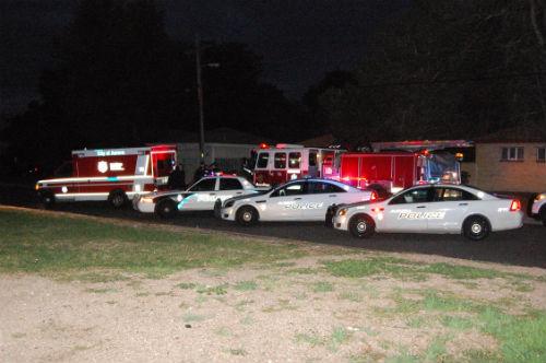 13th Ave. burglary scene 1 - Photo by Shane Anthony AuoraNews1.com