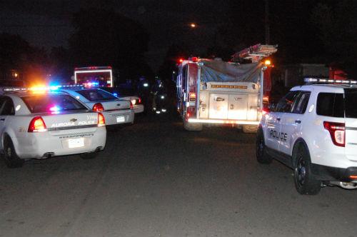 13th Ave. burglary scene 2 - Photo by Shane Anthony AuroraNews1.com