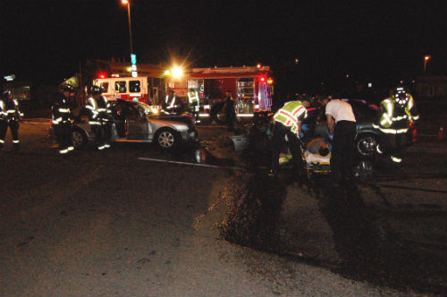 The August 24th, 2014 crash that now is fatal - Photo by Shane Anthony AuroraNews1.com