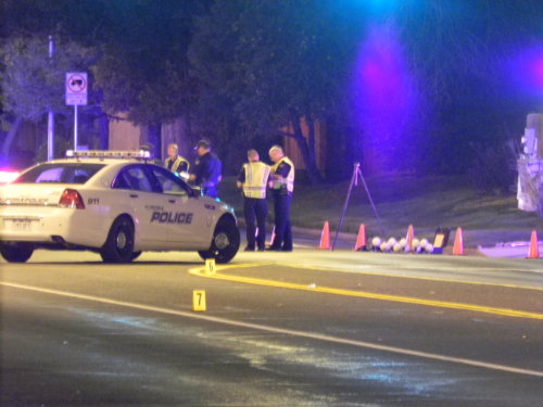 Aurora Police investigate fatal accident  - Photo by Shane Anthony AuroraNews1.com