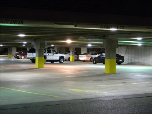 Aurora police investigate a suspicious death in a Walmart parking lot.  Photo by Shane Anthony AuroraNews1.com