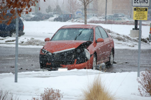 The city of Aurora is on Accident Alert this afternoon 01/03/15 Photo by Shane Anthony AuroraNews1.com