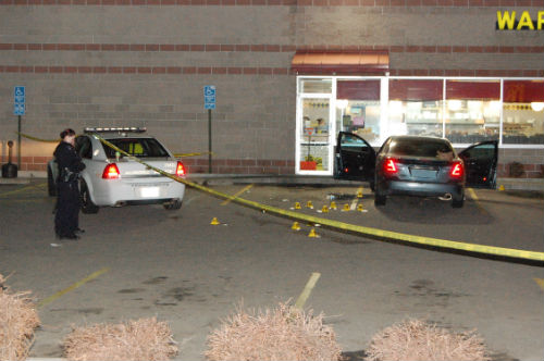 Waffle House shooting 2. Photo by Shane Anthony AuroraNews1.com