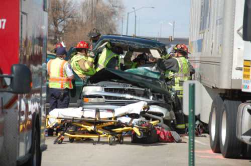 24th and Airport crash 3 - Photo by Shane Anthony AuroraNews1.com