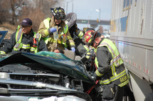 24th and Airport crash 4 - Photo by Shane Anthony AuroraNews1.com